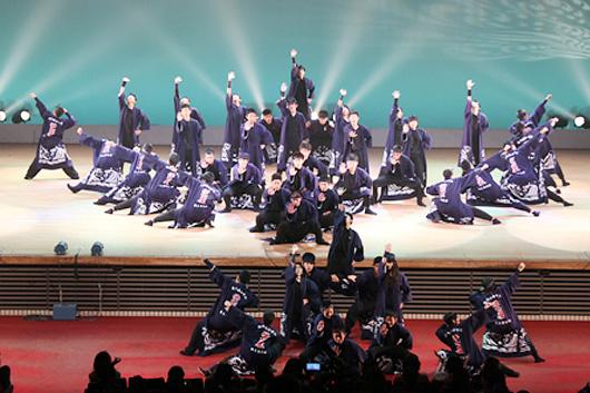 「南中ソーラン」という踊りで有名な稚内南中学校